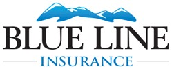 Blue Line Insurance Agency Logo