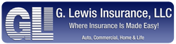 G Lewis Insurance Agency Logo