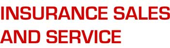Insurance Sales and Service Logo